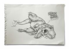 ad for pictionary by ogilvy - great play on word and illustration