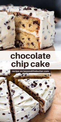 Cookie Cake Recipes, Cupcake Recipes, Yummy Dessert Recipes, Easy Desserts, Baking Recipes, Delicious Desserts, Cupcake Cakes, Cookie Cakes, Yummy Food