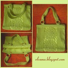 Crochet Handbag | Сумка, связанная крючком