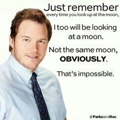 Not the same moon, obviously.  That's impossible.