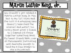 MLK, Jr. Mini Unit!