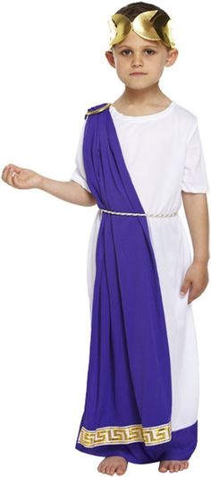 Children's Roman Emperor Fancy Dress Costume – Modo Creations