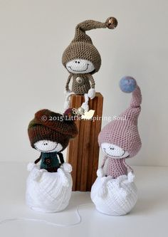Lucky doll crochet amigurumi DANISH PDF crochet by lescreasdeclo