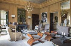 Millwork dining room. Jean Louis Deniot