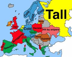 What do Brazilians think about Europeans according to Google Search: [Demonym] are...