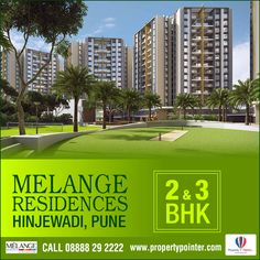 Melange Residences Hinjewadi is the new residential venture by Rama Group in Pune. Melange Residences Hinjewadi is perfectly poised with charms of modernization. A home at this place can definitely get sweeter due to the blissful surrounding areas. Melange Residences Pune also features calm, composed and blissful surrounding areas