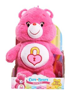 Care Bears Secret Medium Plush with DVD