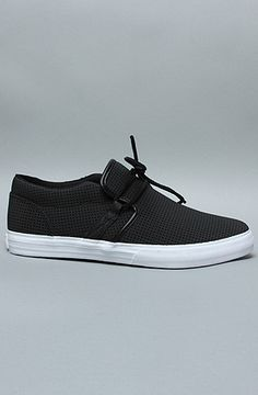 Even though it is a man's shoe, I would wear them if it came in my size.... The Cuban 1.5 Sneaker in TUF Black by SUPRA