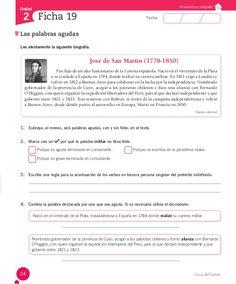 Cuaderno Actividades Lenguaje 5º Grammar Book, Spanish Lessons, Study Tips, Montessori, Classroom, Books, Texts, Spanish, Kids Learning Activities