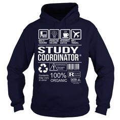Awesome Tee For Study Coordinator T-Shirts, Hoodies. GET IT ==► Funny Tee Shirts