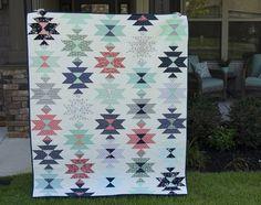 Hyacinth Quilt Designs: Squash Blossom Quilt