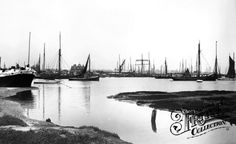 Photo of Brightlingsea, Sailing Barges 1907 Family History, Sailing, River, Places, Illustration, Artist, Outdoor, Candle, Outdoors