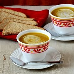 Vegan Curried Roasted Butternut Squash Soup