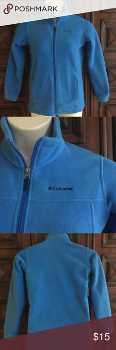 Columbia Fleece In excellent condition. Worn once! No tears or stains. All zippers fully functional. This fits Youth 14/16. Columbia Jackets & Coats