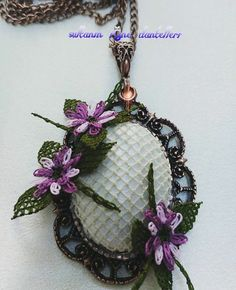 This Pin was discovered by ulk Helly Hansen, Needle Lace, Bargello, Grapevine Wreath, Grape Vines, Hand Embroidery, Needlework, Bracelet Watch, Jewelery