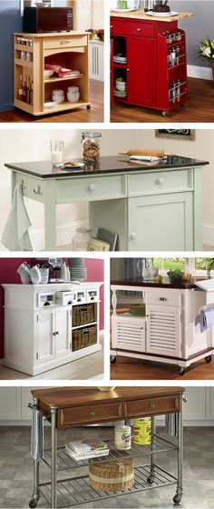 We know that when it comes to the kitchen, space is a key factor. Treat yourself to style, storage and convenience with our multi-purpose kitchen carts. Our microwave carts are an excellent option, or try one of our quality prep tables. Visit Wayfair and sign up today to get access to exclusive deals everyday up to 70% off. Free shipping on all orders over $49.