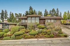 Gorgeous million dollar home in #Seattle #Washington with stunning views