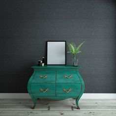 Whimsical Green Dresser with Blank Picture Frame Modern Dresser, Green Dresser, Dresser With Mirror, Best Luxury Sheets, Traditional Dressers, Modern Traditional, Large Drawers