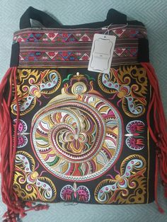 Hot Casual Tote New national nice embroidered shoulder bags handmade embroidery ethnic clothshoulder bag handbags Bags Bags 2015, Embroidered Bag, Printed Bags, Handmade Flowers, Chinese Style, Flower Embroidery, Beaded Embroidery, Satchel, Handbags