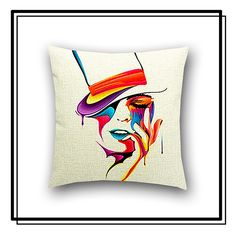 novelty throw pillow available at TWENTY/ONE/SEVEN for only $45.00