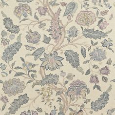 Zoffany - Luxury Fabric and Wallpaper Design | Products | British/UK Fabric and Wallpapers | Kalamkari (ZJAI321699) | Jaipur Prints & Embroideries