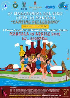 Mezza Maratona del Vino a Marsala 21 km
