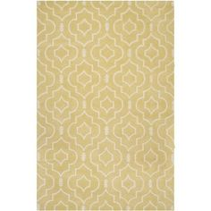 Shop for Safavieh Handmade Moroccan Chatham Collection Light Gold/ Ivory Wool Rug (5' x 8'). Get free shipping at Overstock.com - Your Online Home Decor Outlet Store! Get 5% in rewards with Club O! - 15658174
