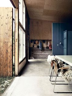 Moody colors for a renovated home