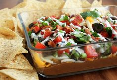 Cooking Classy: 9 Layer Bean Dip (with Bacon!)