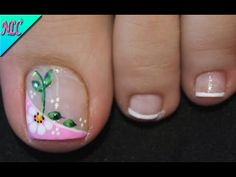 Toe Nail Art, Toe Nails, Manicure And Pedicure, Lily, Pretty Pedicures, Feet Nails, Designed Nails, Bag, Make Up