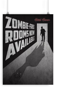 Zombie Apocalypse by Christiana Del Vecchio, via Behance