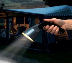 ook als zaklamp is de triplight ideaal handig voor op de camping kamperen verlichting tent voortent camping