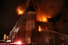 Dec. 17, 2010 - Tabernacle Fire