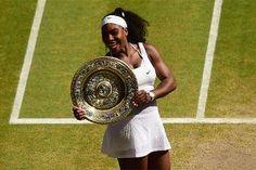 Serena Williams beats Garbine Muguruza to win sixth Wimbledon crown and 21st Grand slam title