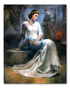Mandana, Queen consort of King Cambyses I of Anshan and mother of Cyrus the Great, 88th ggm