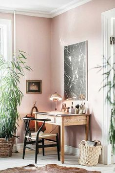 Office Goals - The Coolest Pink Spaces That Make Us Blush - Photos