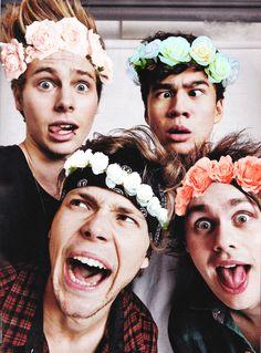 Flower crowns... O_O