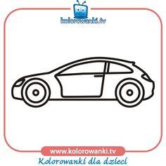 Samochód numer pięć - Kolorowanki z samochodami | Kolorowanki
