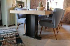 Nieuwe super stoere tafel `Fjorde`