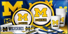 Michigan Wolverines Party Supplies- Party City