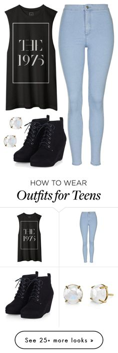 """Untitled"" by kintrona on Polyvore featuring Topshop, women's clothing, women, female, woman, misses and juniors"