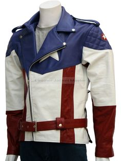 Captain America - The First Avenger Leather Jacket