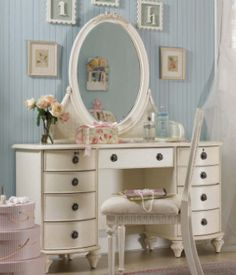 This Is Type Of Makeup Table I Am On Look Out For