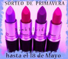 #Pintalabios de MAC a elegir por la ganadora ^_^ http://www.pintalabios.info/es/sorteos_de_moda/view/es/3227 #Internacional #Sorteo #Maquillaje