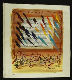 Luda Konov Signed Original LE 21x23 Mixed Media Painting on Canvas (PA LOA) at Pristine Auction
