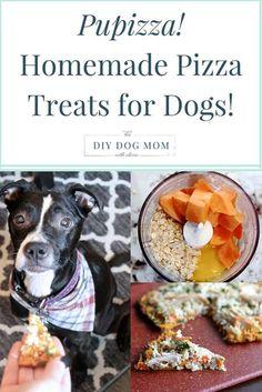 Pupizza! Homemade Pizza Treats for Your Dog | homemade dog treats | diy dog treats | healthy dog treats