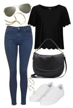 """Untitled #1191"" by briarachele ❤ liked on Polyvore featuring Topshop, ASOS, Mulberry, Ray-Ban and Monica Vinader"