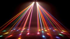 Disco lights wallpaper for your iMac