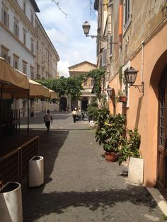Background S.Maria in Trastevere in Rome