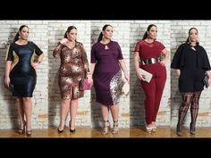 Monif C. Plus Sizes February 2015 Style Lookbook - YouTube